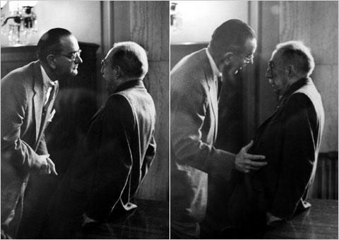 Obama, Reid, Johnson ¿El poder de la persuasión? ¿O el poder del ...